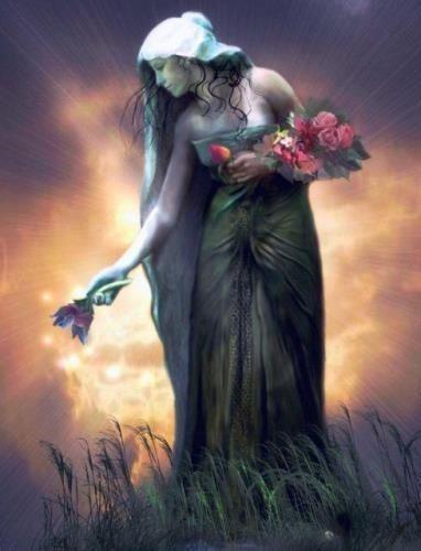 diosa celta de la tierra