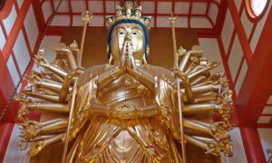 diosa Kannon japonesa