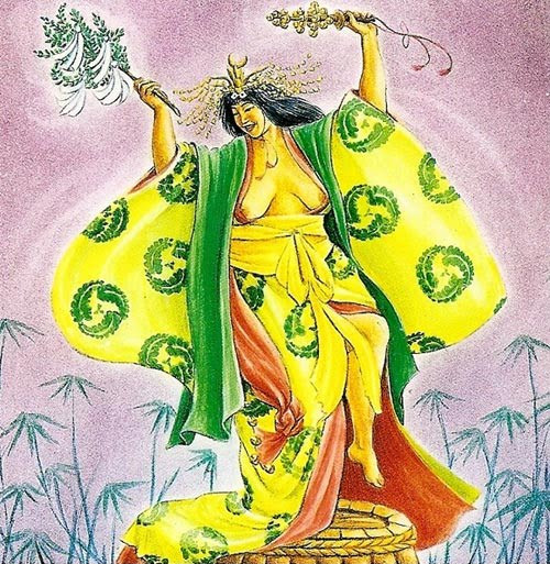 Uzume diosa