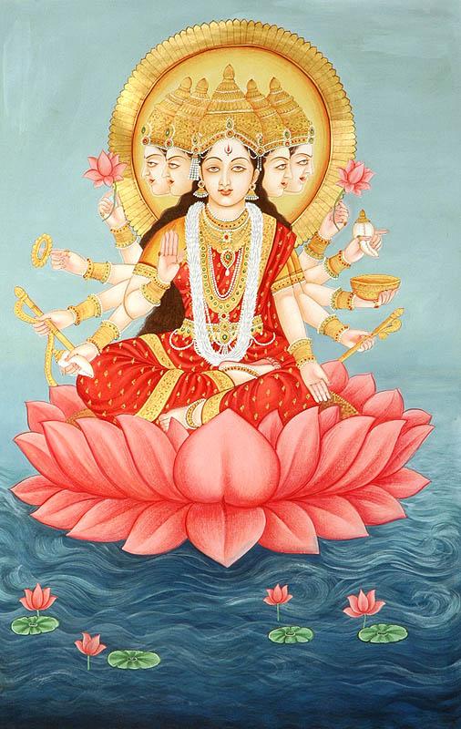 diosa de las 5 caras