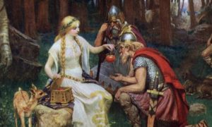 diosas vikingas