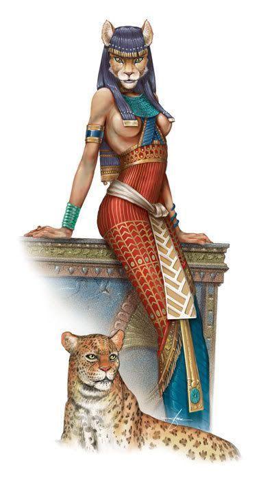 diosa egipcia de la guerra