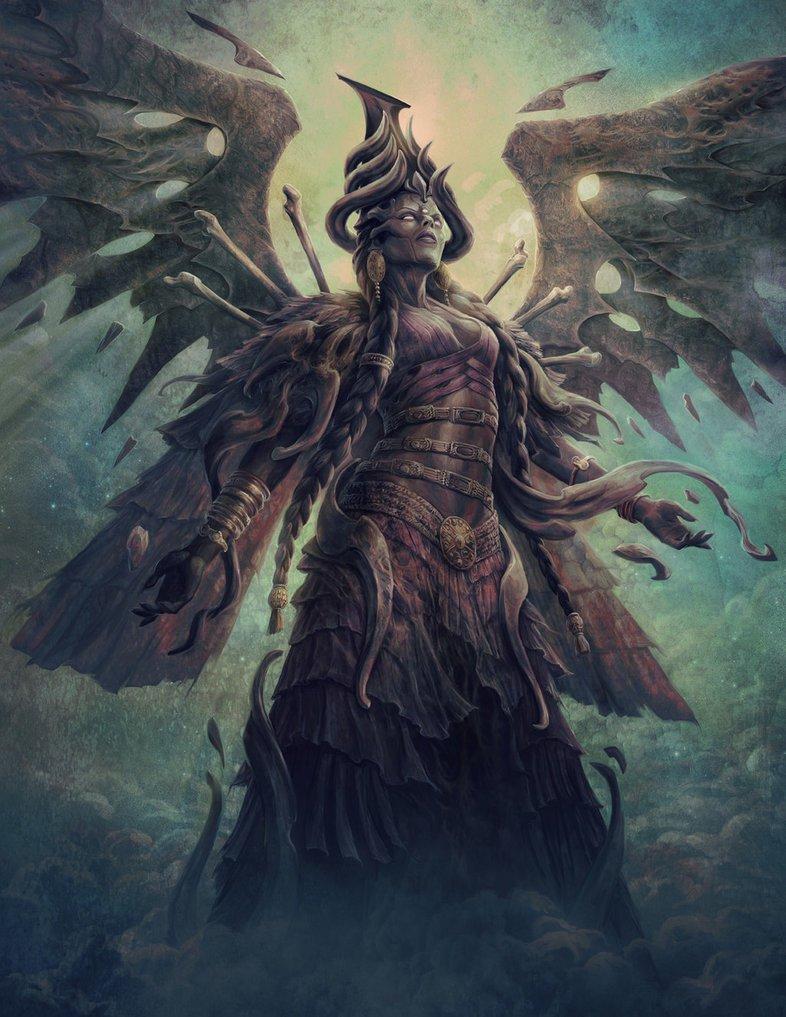 diosa del inframundoEreshkigal