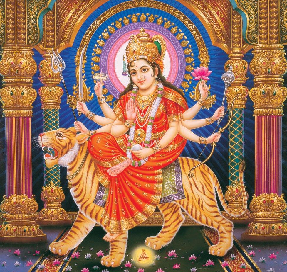 diosa madre Durga