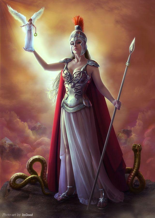 diosa minerva