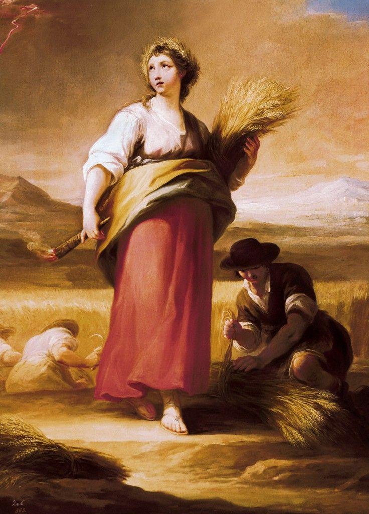 Ceres diosa romana de la agricultura