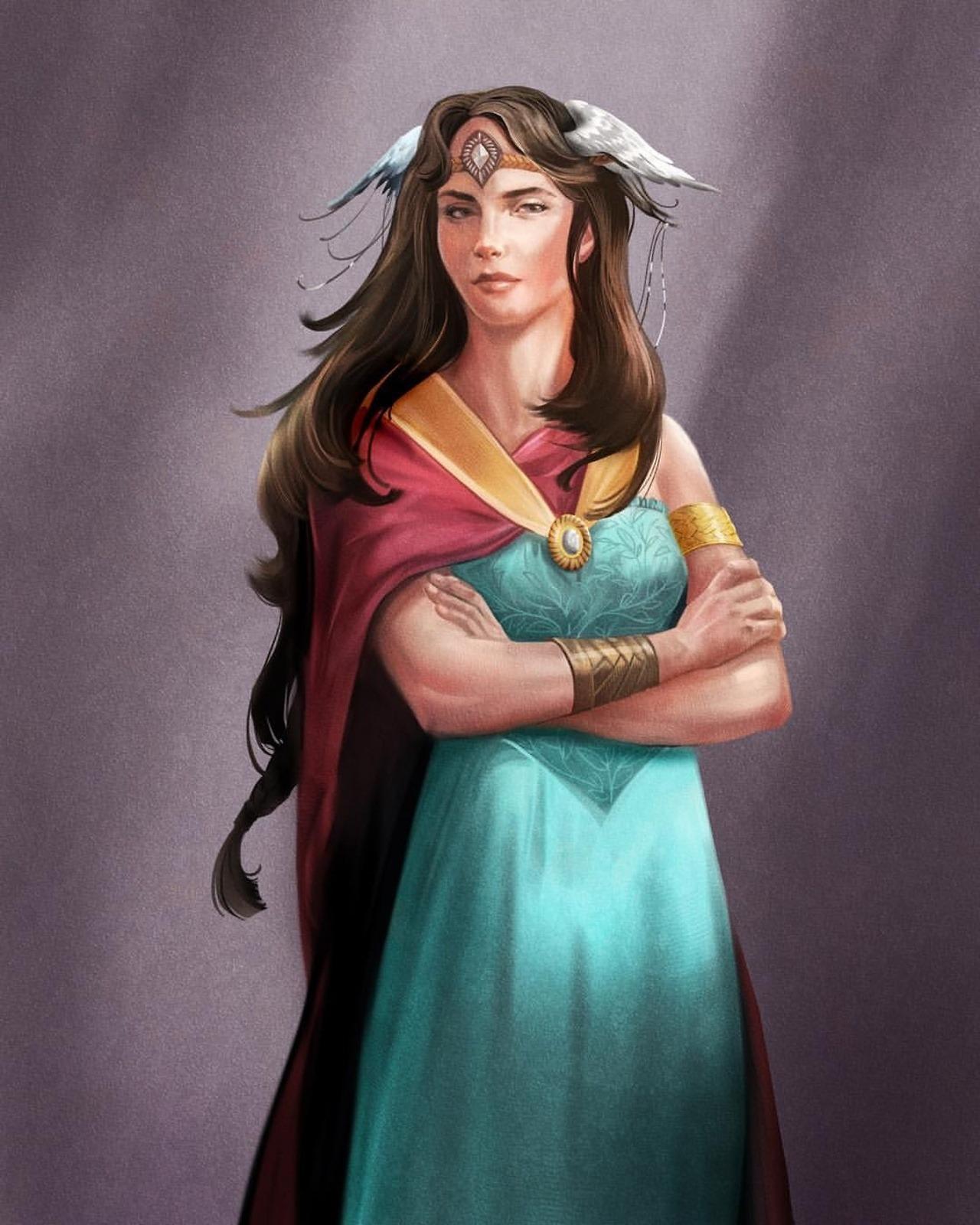 Frigga diosa nórdica