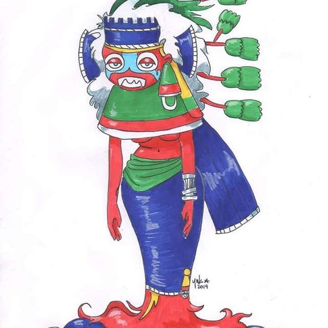 Diosa de la sequía azteca