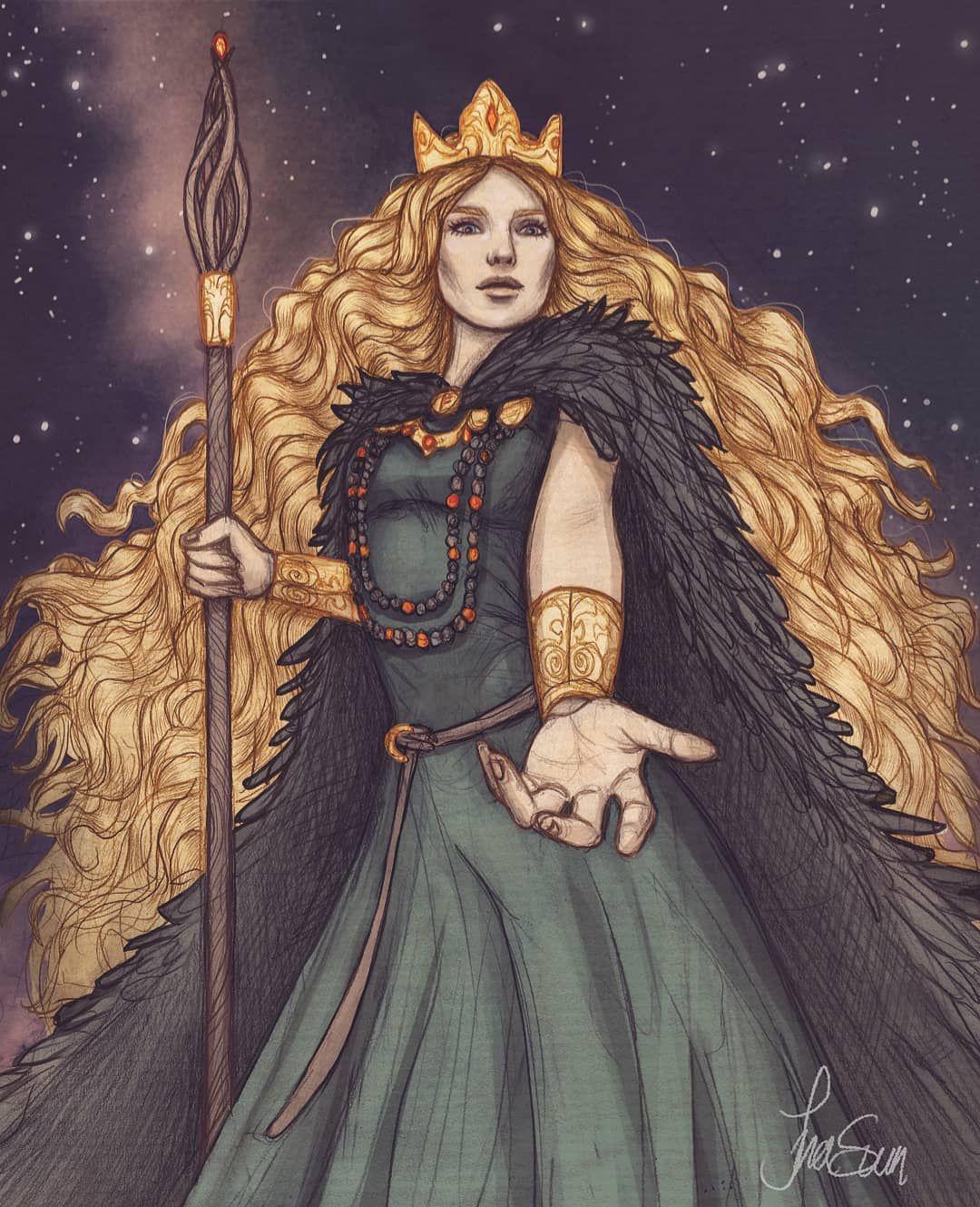 diosa vikinga Freya