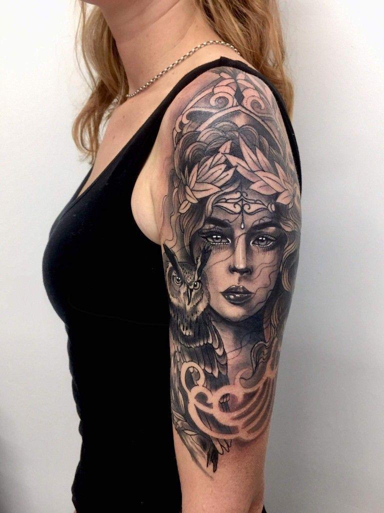 Tatuaje Atenea