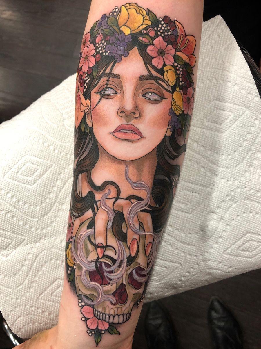Tatuaje de Perséfone