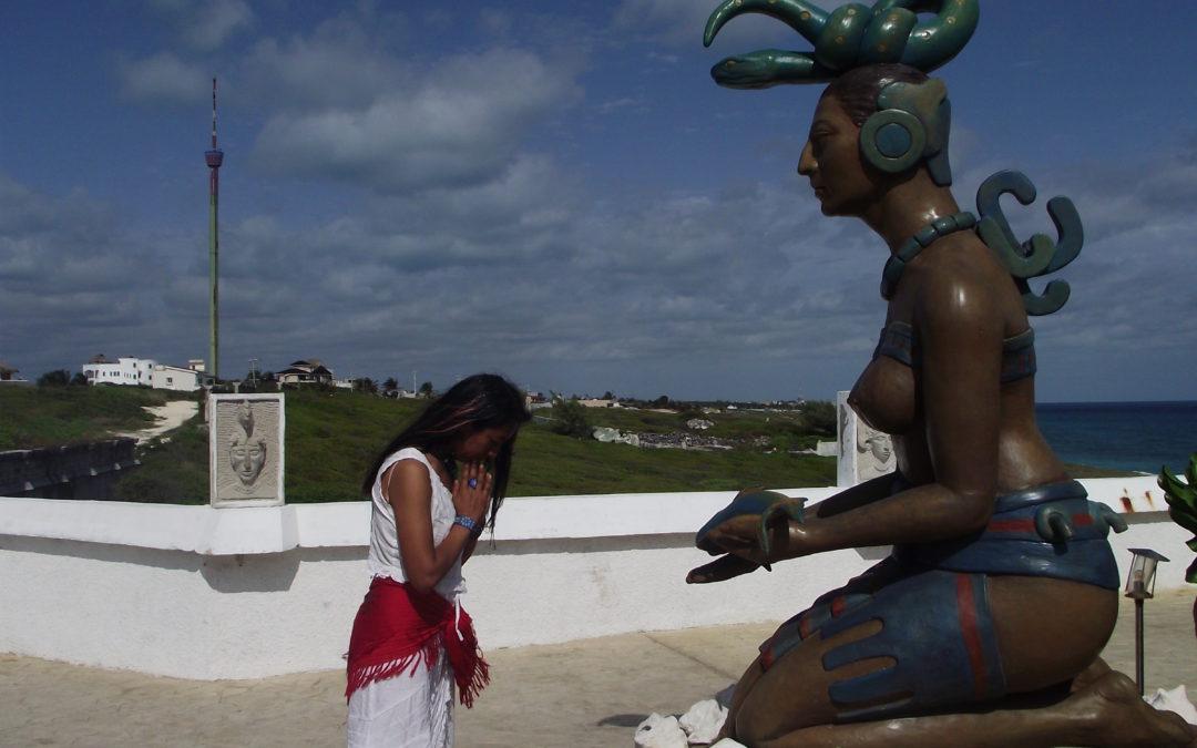 ixchel diosa maya yucatán