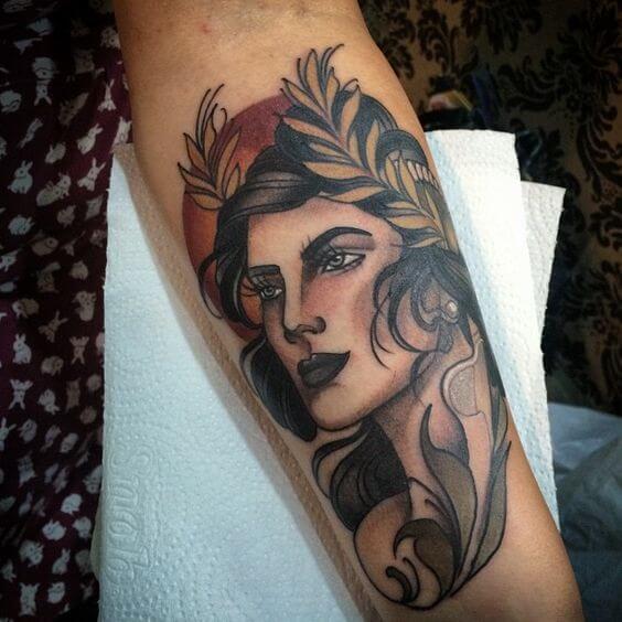 Tatuaje de Demeter