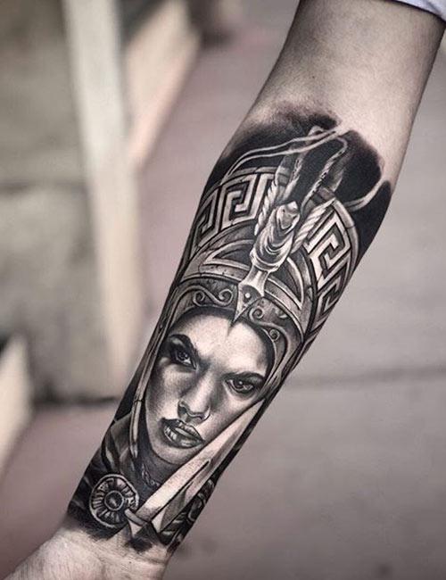 Tatuaje de Afrodita