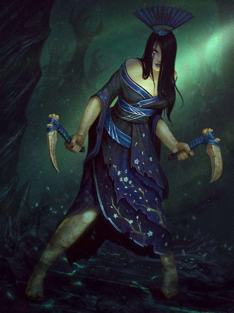 diosa de la muerte japonesa