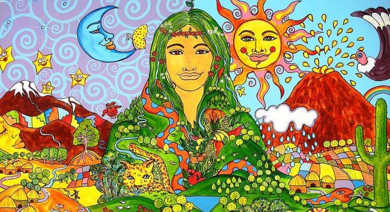 Diosas incas PACHAMAMA