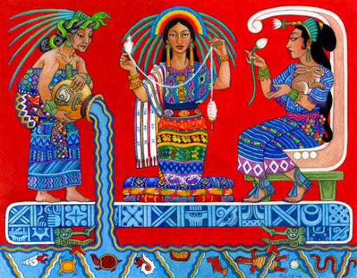 diosas mayas