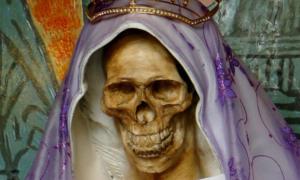 La Santa Muerte Halloween