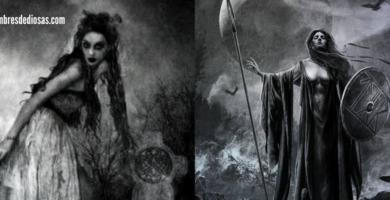 diosas de la muerte