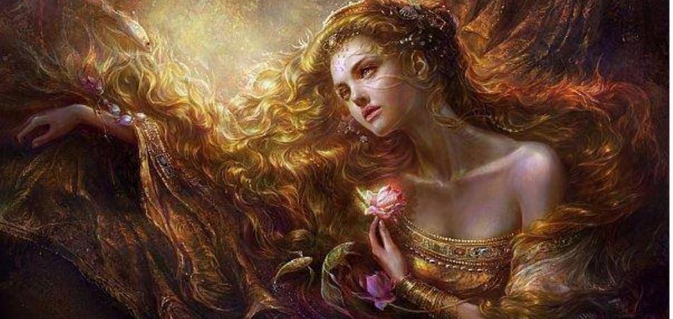 diosas mitológicas de la belleza